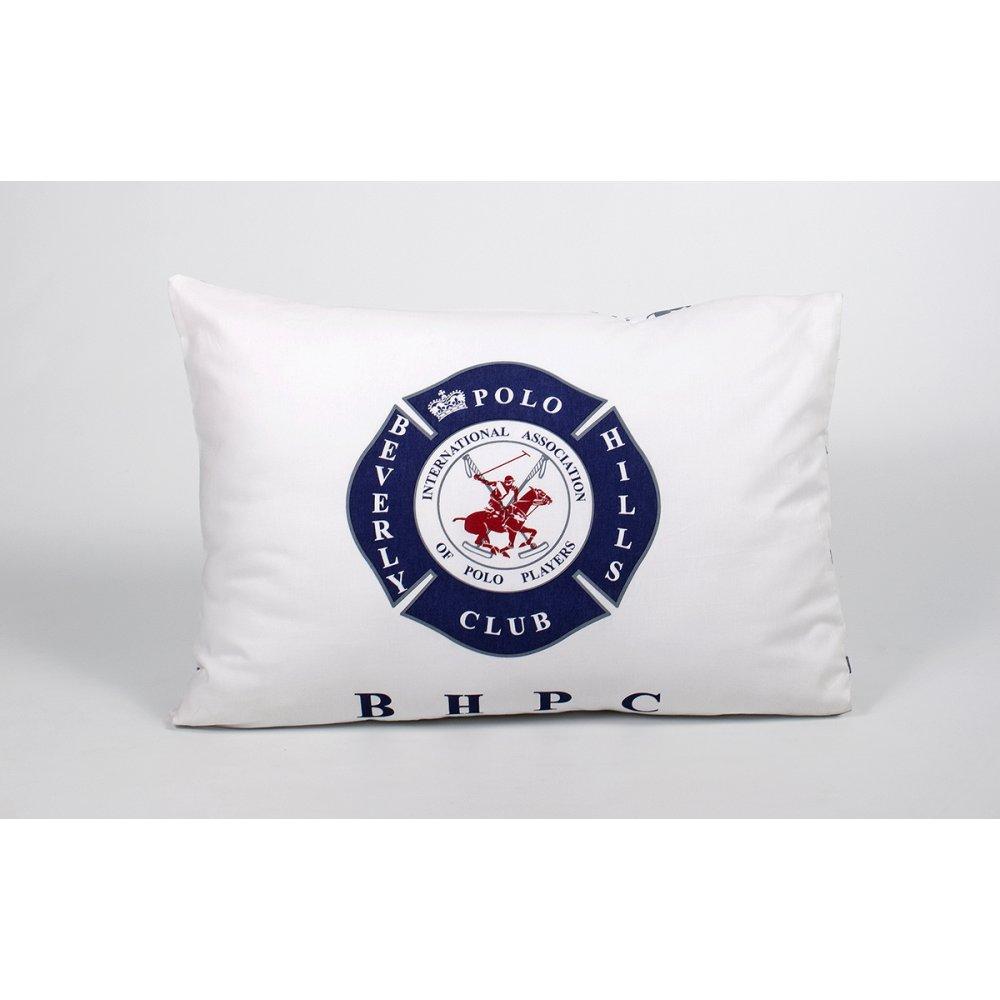 Наволочки Beverly Hills Polo Club - BHPC 010 Dark Blue 50*70 (2 шт)