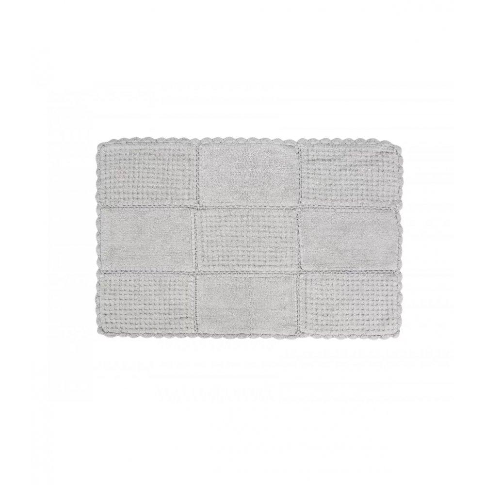 Набор ковриков Irya - Sandy silver серебро 65*100+45*65