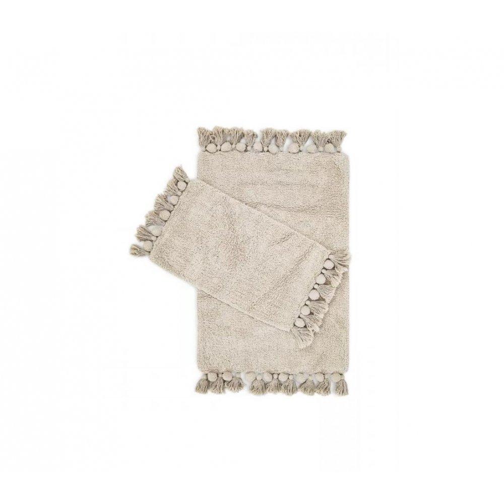 Набор ковриков Irya - Gala bej бежевый 55*85+35*55