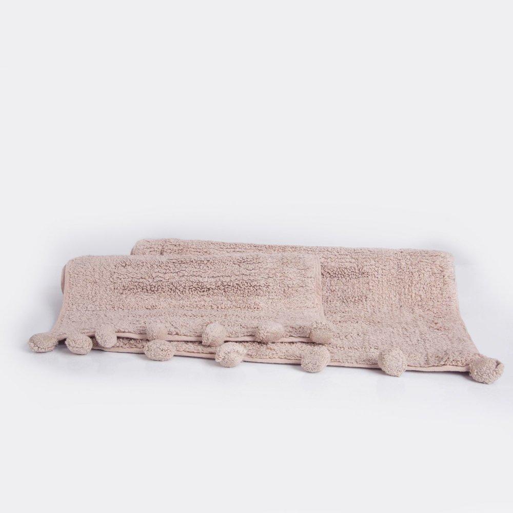 Набор ковриков Irya - Arline lila лиловый 40*60+55*80
