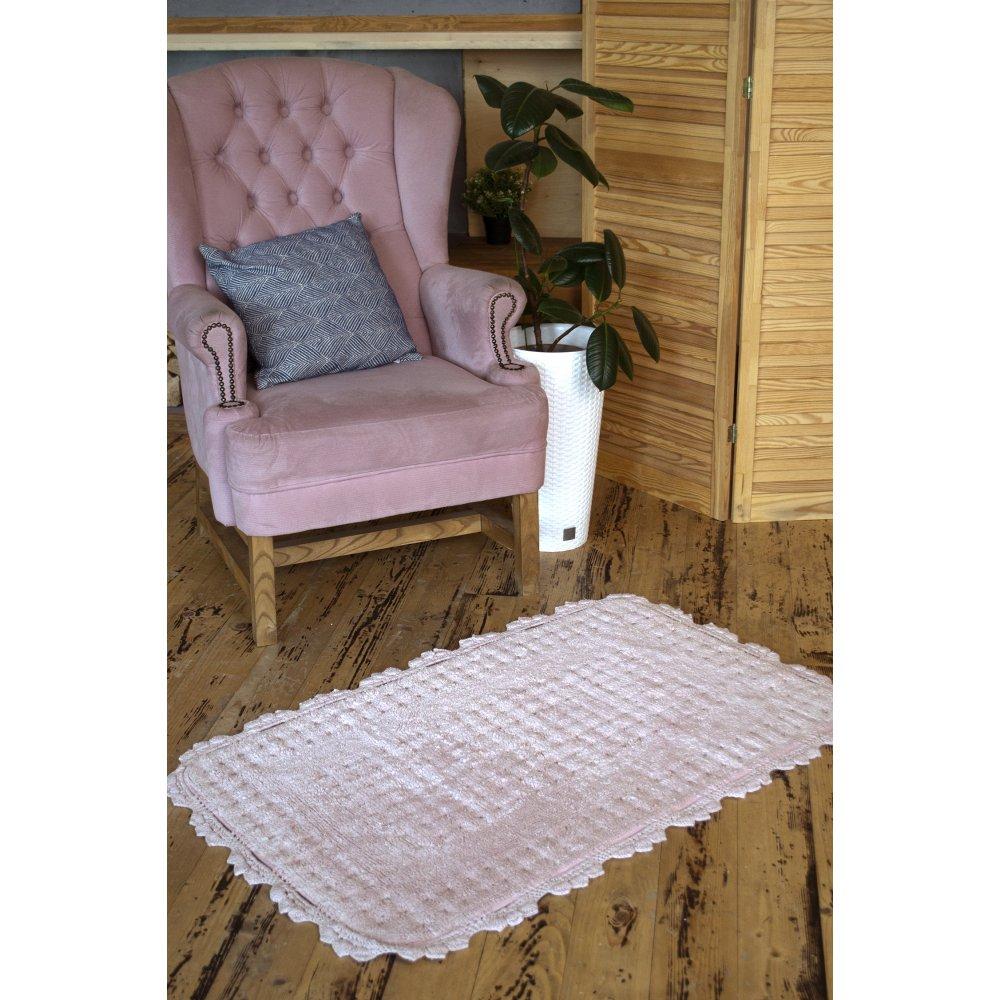 Коврик Irya - Mina pembe розовый 70*110