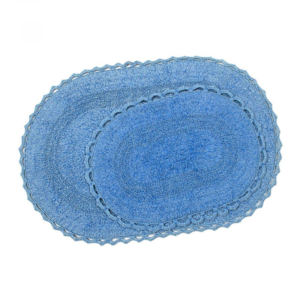 Набор ковриков Irya - Vermont lacivert синий 60*90+40*60