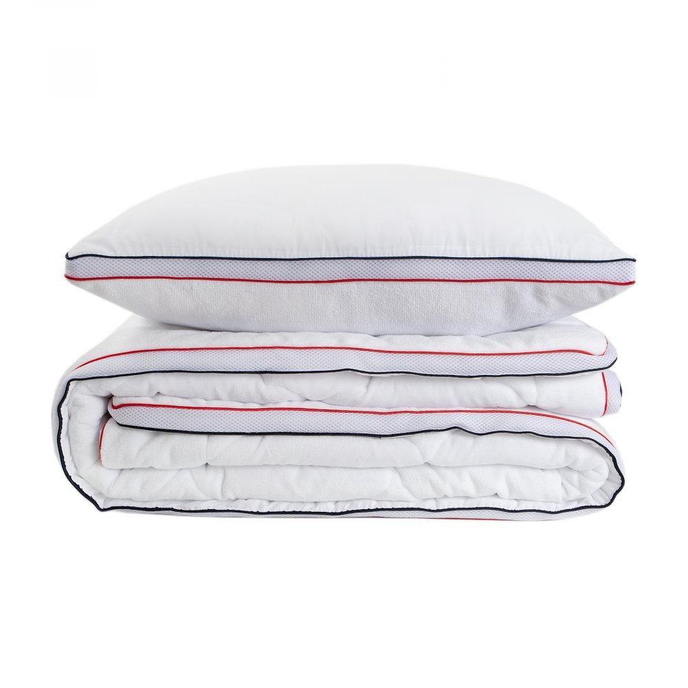 Набор одеяло с подушкой Karaca Home - Climate 155*215 полуторный