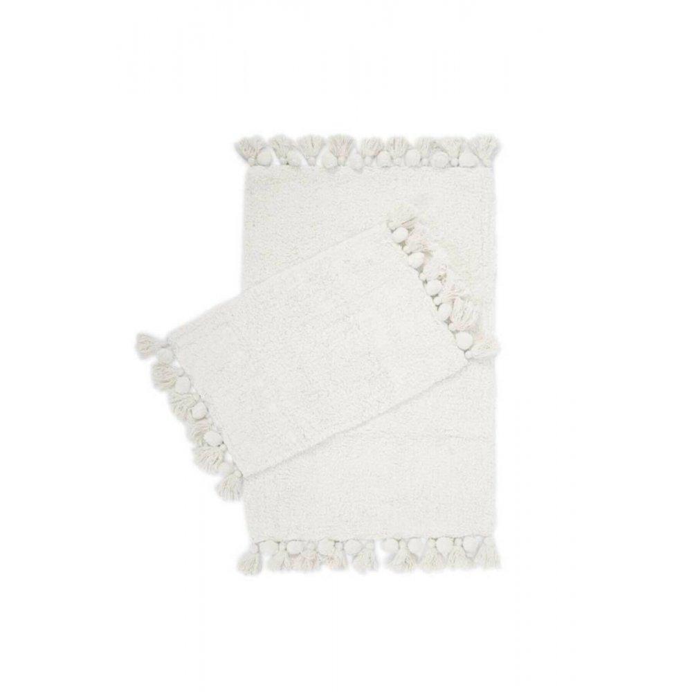 Набор ковриков Irya - Gala ekru молочный 55*85+35*55