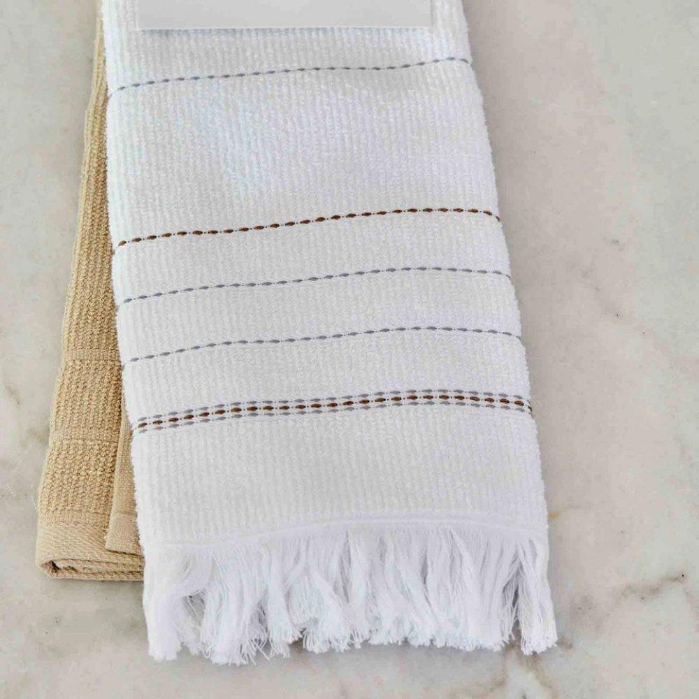 Набор кухонных полотенец Karaca Home - Alisa gri серый 60*40 (2 шт.)