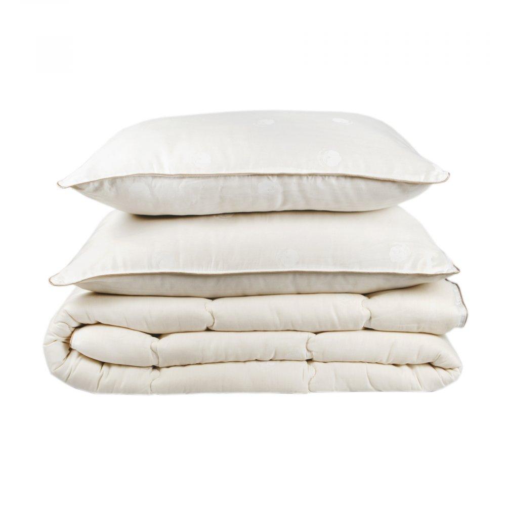 Набор одеяло с подушками Karaca Home - Cotton хлопковый 195*215 евро