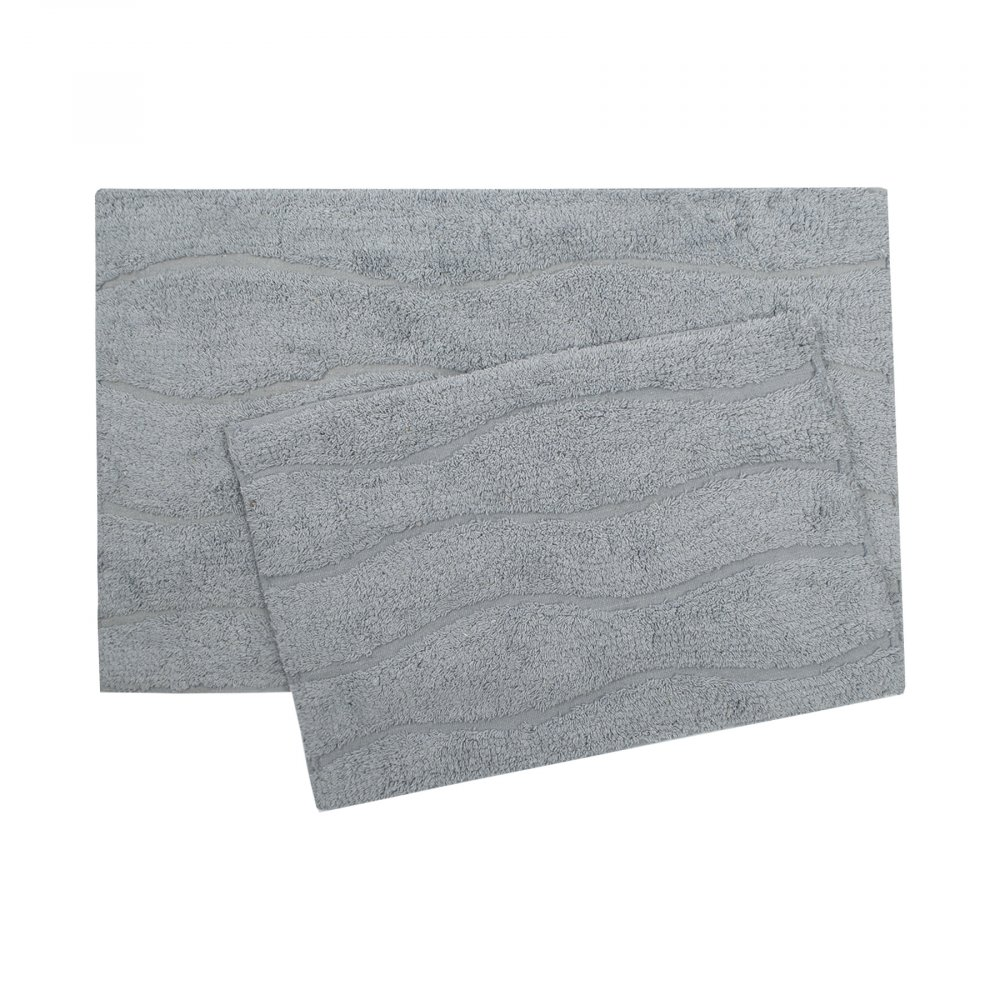 Набор ковриков Shalla - Melba mavi голубой 40*60+50*80