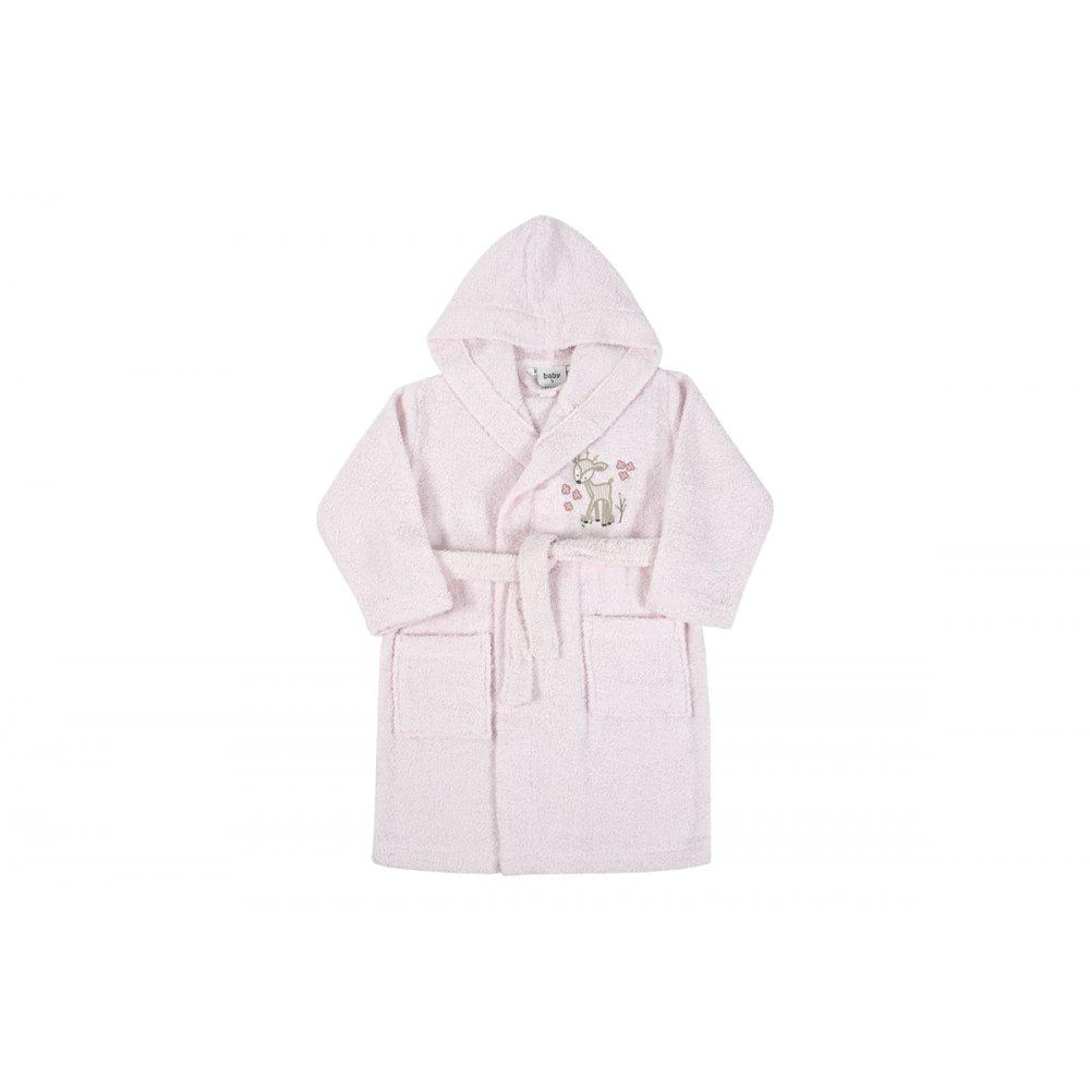 Детский халат Karaca Home - Doe Pembe 2020-2 розовый 6-8 лет