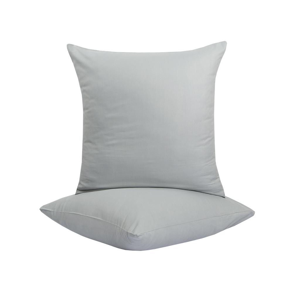 Наволочка Lotus Отель - Сатин классик серый Турция 70*70 (1 шт) п/э
