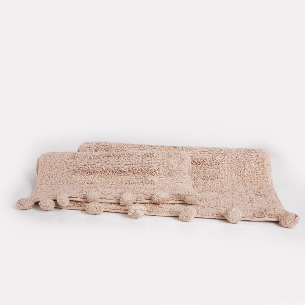 Набор ковриков Irya - Arline somon лососевый 40*60+55*80