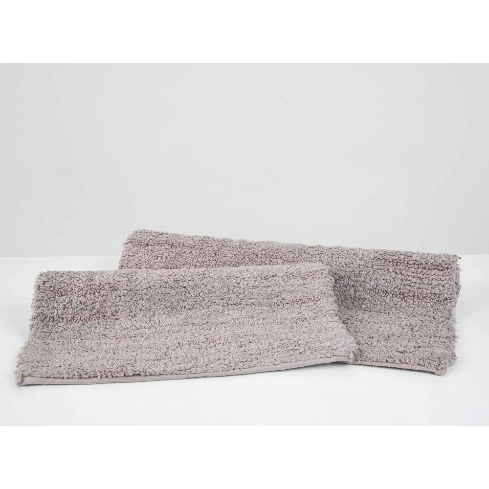 Набор ковриков Irya - Huber gri серый 50*80+35*55