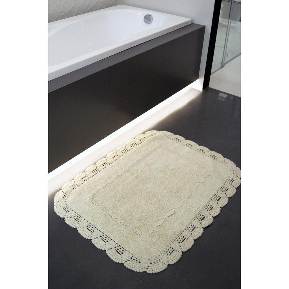 Набор ковриков Irya - Anita krem кремовый 60*90+40*60