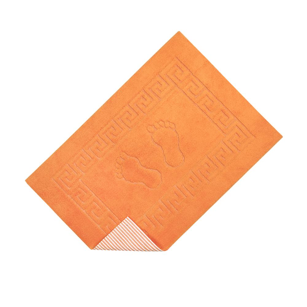Коврик для ванной Lotus - 45*65 оранжевый