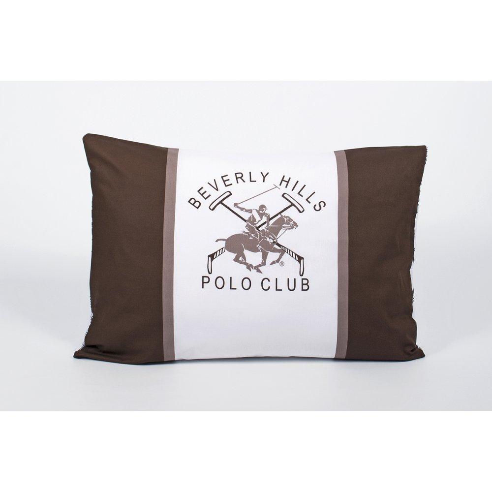 Наволочки Beverly Hills Polo Club - BHPC 029 Brown 50*70 (2 шт)