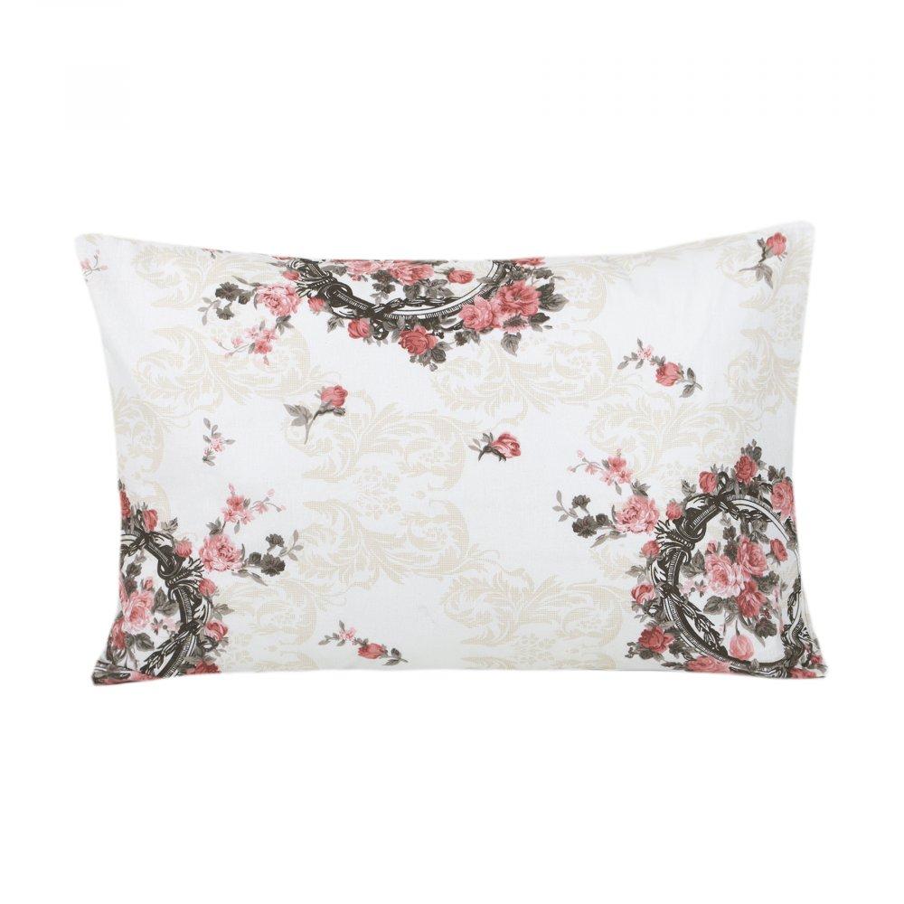 Наволочки Iris Home ранфорс - Angelique розовый 50*70 (2 шт)