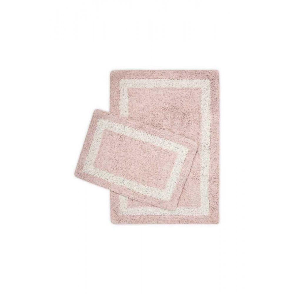 Набор ковриков Irya - Liberte pembe розовый 60*90+40*60