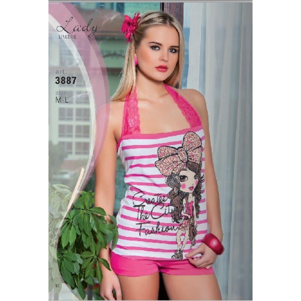 Домашняя одежда Lady Lingerie - 3887 М комплект