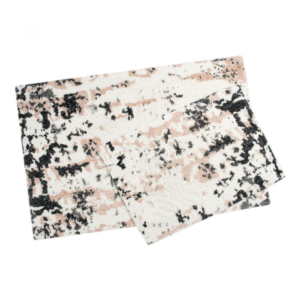 Набор ковриков Irya - Calist salmon лососевый 60*90+40*60