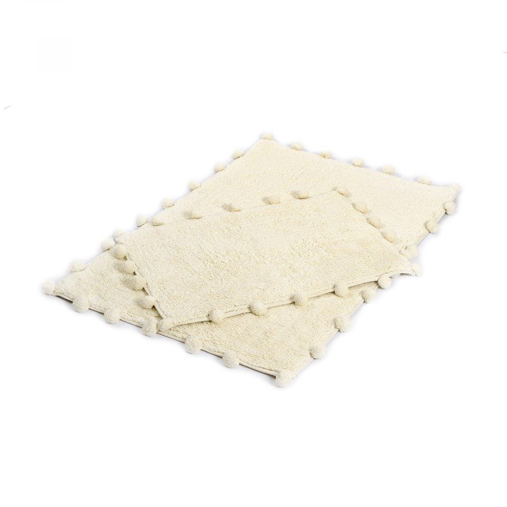 Набор ковриков Irya - Alya ekru молочный 60*90+40*60