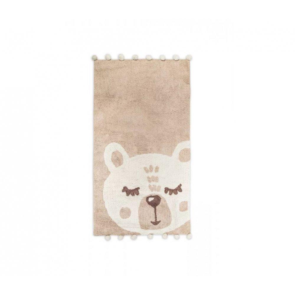 Коврик в детскую комнату Irya - Teddy krem кремовый 80*150