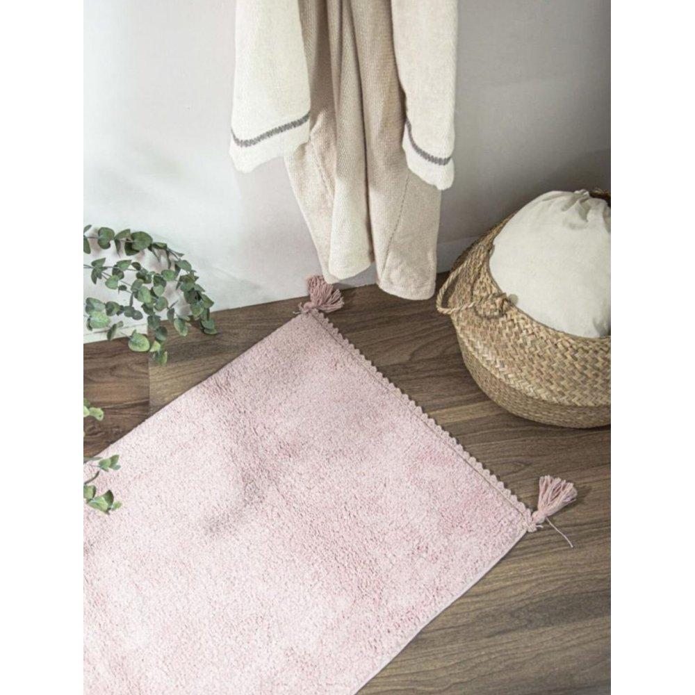 Коврик Irya - Benny gul kurusu розовый 70*110