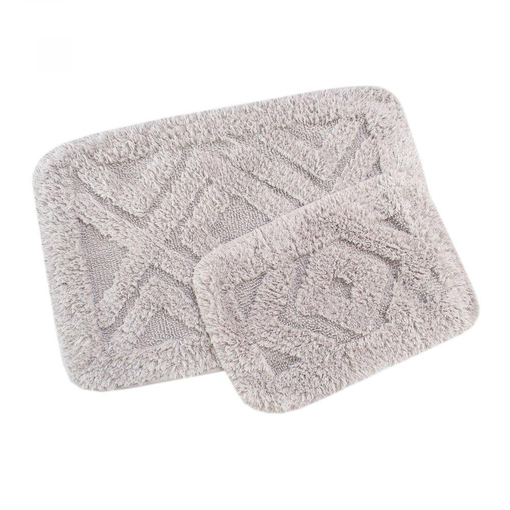 Набор ковриков Irya - Barnes bej бежевый 60*90+40*60