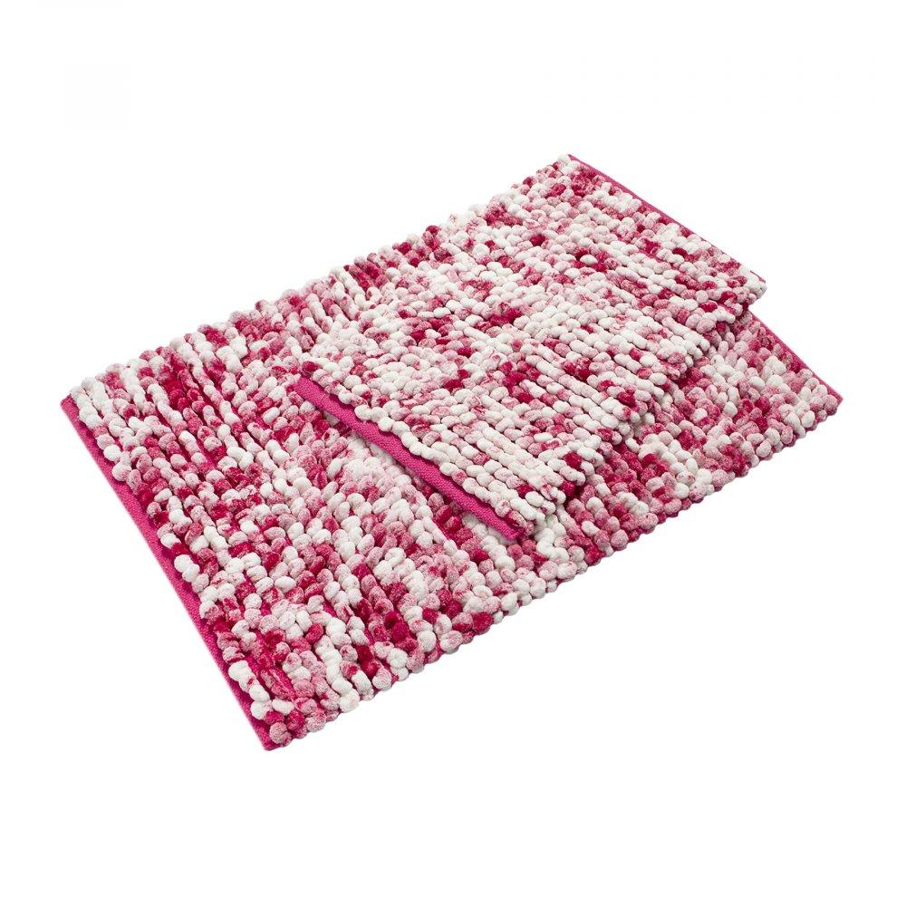 Набор ковриков Irya - Ottova fusya фуксия 60*90+40*60