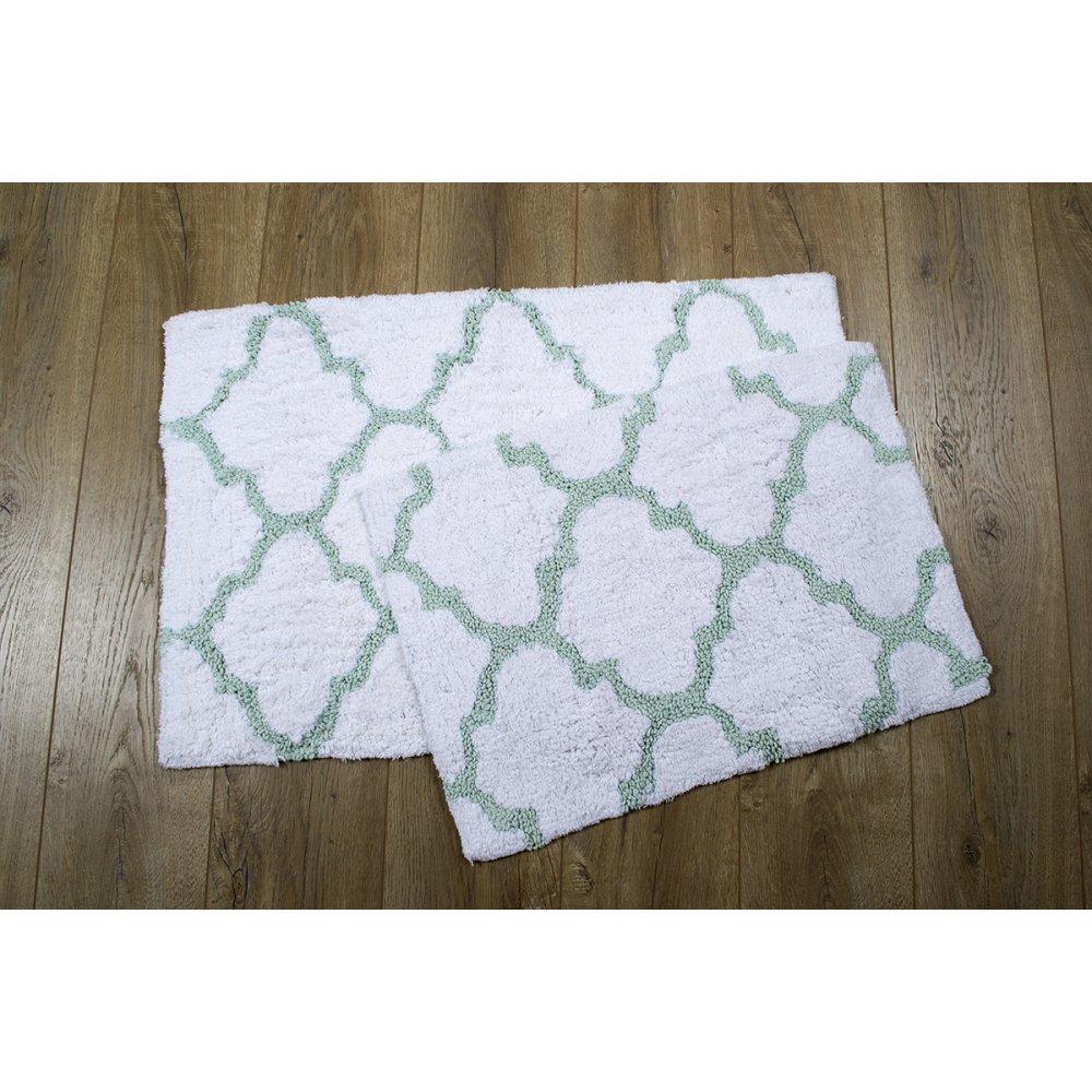 Набор ковриков Irya - Bali mint ментол 50*80+45*60