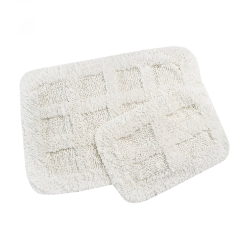 Набор ковриков Irya - Ruth ekru молочный 60*90+40*60