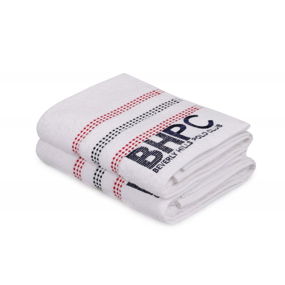 Набор полотенец Beverly Hills Polo Club - 355BHP1261 Botanik White 50*90