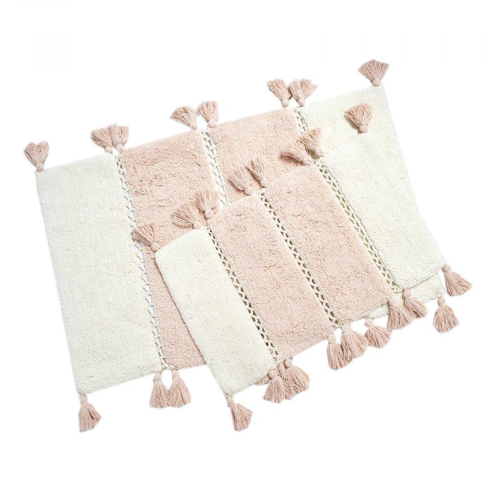 Набор ковриков Irya - Venus rose розовый 60*90+40*60