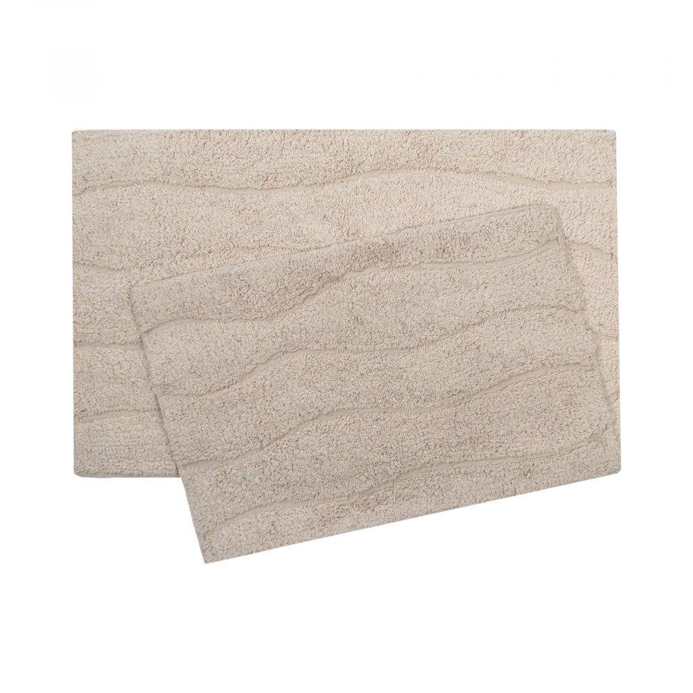 Набор ковриков Shalla - Melba somon лососевый 40*60+50*80