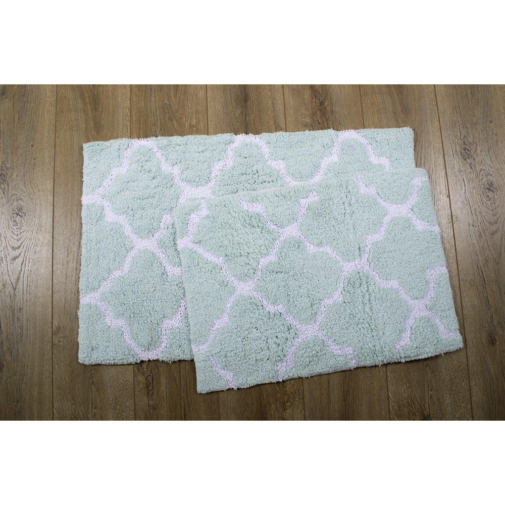 Набор ковриков Irya - Bali aqua 50*80+45*60
