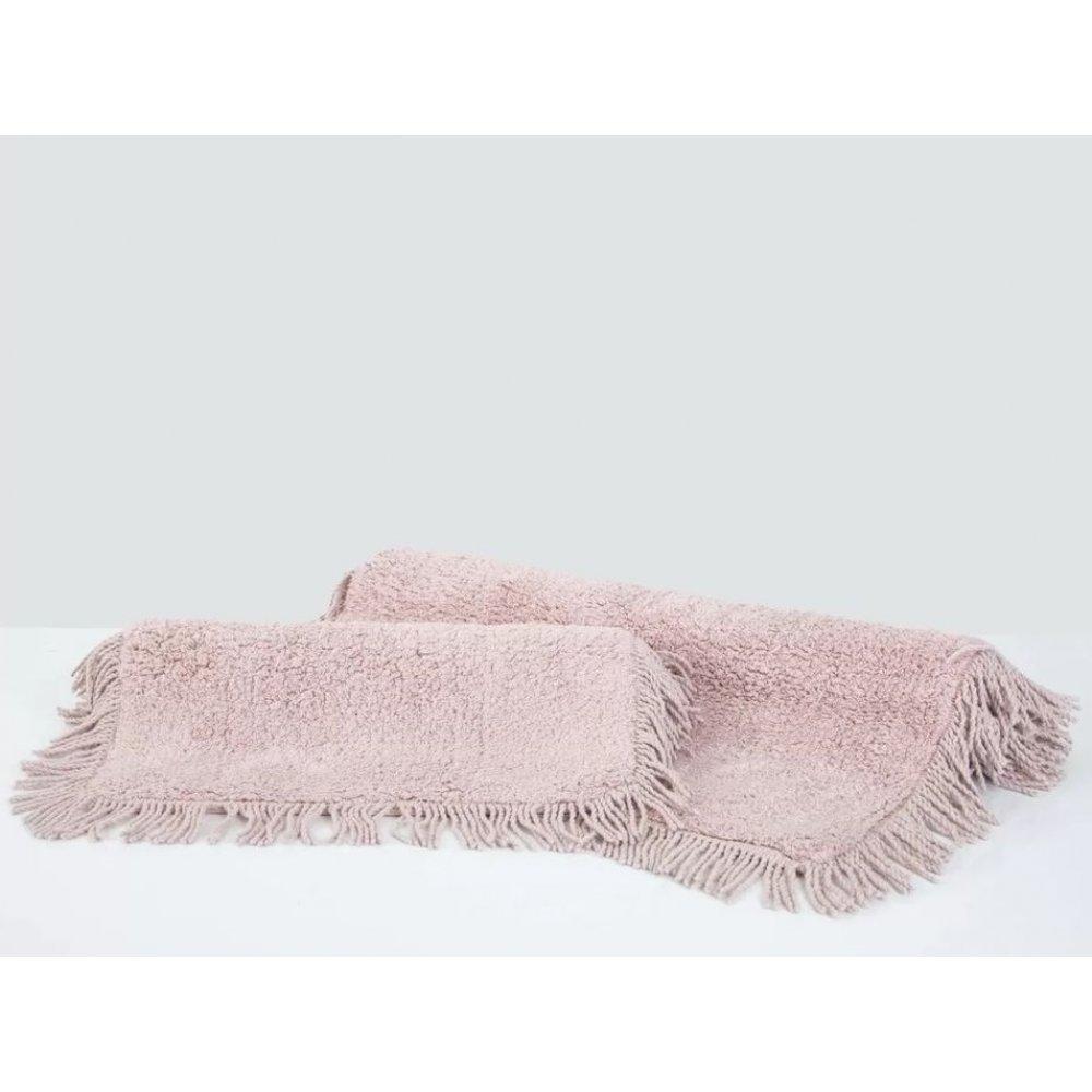 Набор ковриков Irya - Loris pembe розовый 60*90+40*60