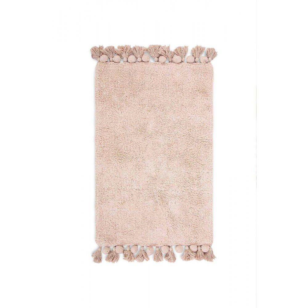 Коврик Irya - Gala gul kurusu розовый 65*105