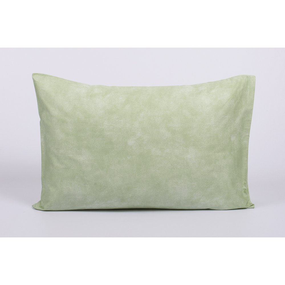 Наволочка Tac сатин Digital - Biella yesil v01 зеленый 50*70