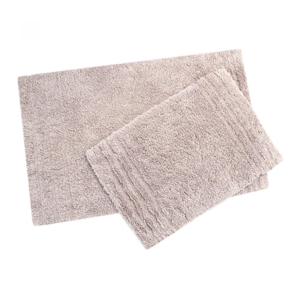 Набор ковриков Irya - Krios lila лиловый 40*60+55*85