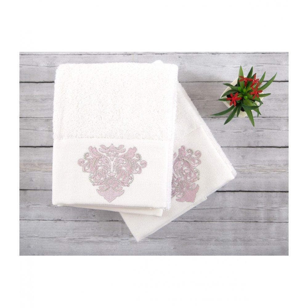 Набор полотенец Irya - Adore white белый 50*90 (2 шт)