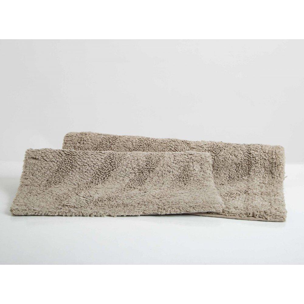Набор ковриков Irya - Kensas gri серый 40*60+55*85