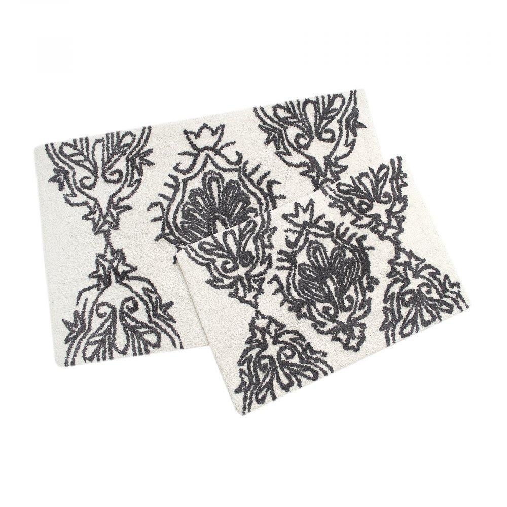 Набор ковриков Irya - Juana k.gri темно серый 40*60+55*85