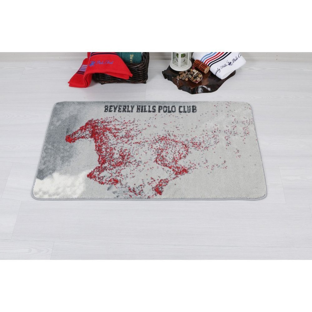 Коврик Beverly Hills Polo Club - 310 Red 57*100