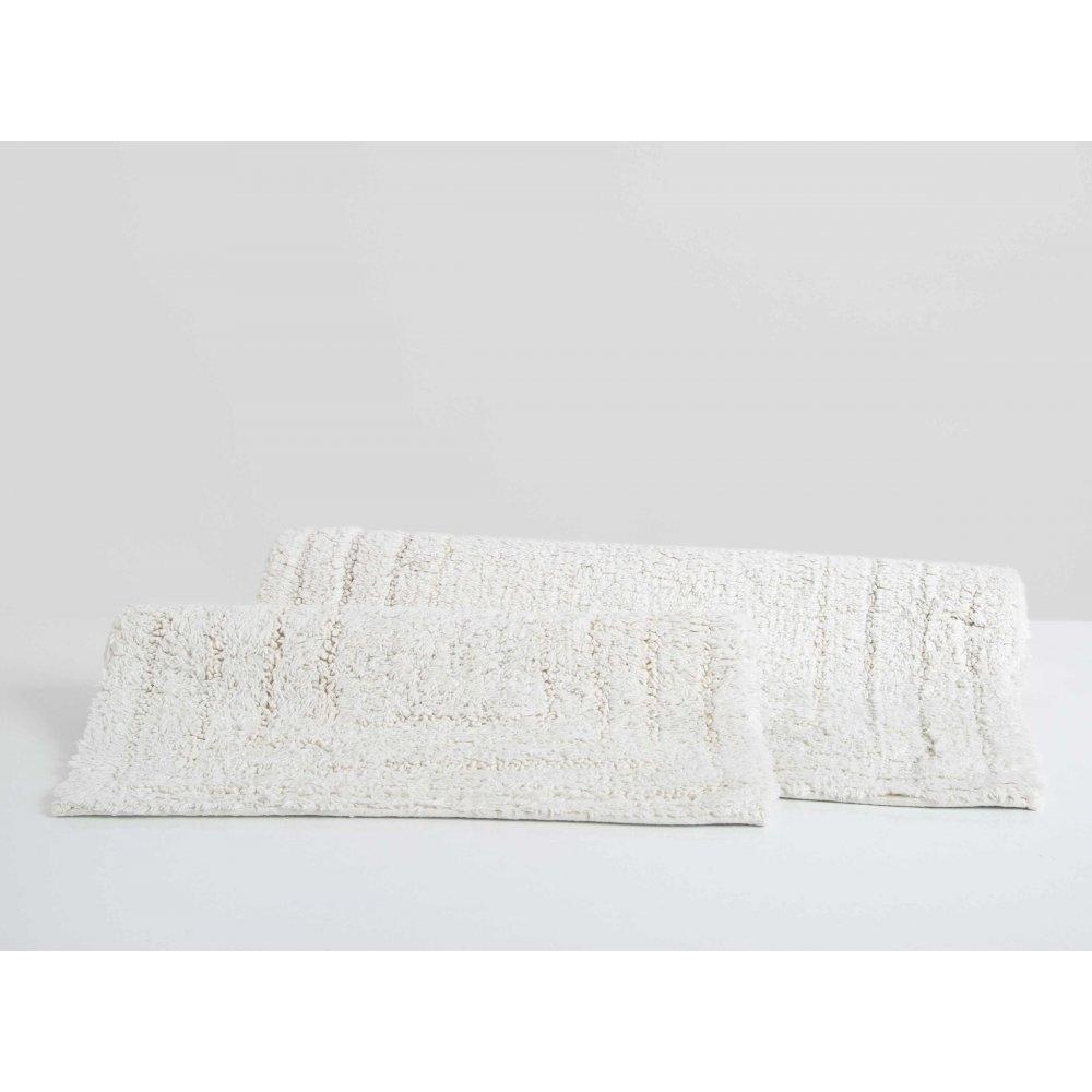 Набор ковриков Irya - Bundi ekru молочный 40*60+55*80