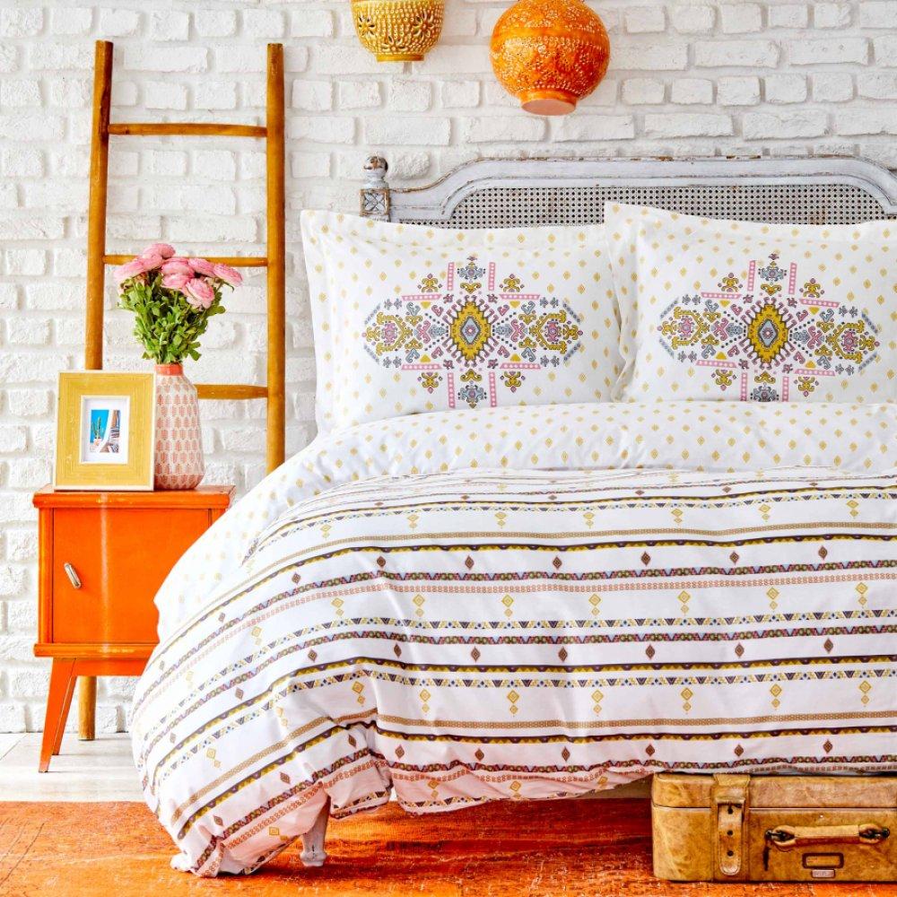 Набор постельного белья Sarah Anderson - Prienne sari желтый 200*220 евро