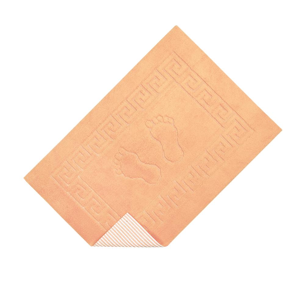 Коврик для ванной Lotus - 45*65 светло-оранжевый