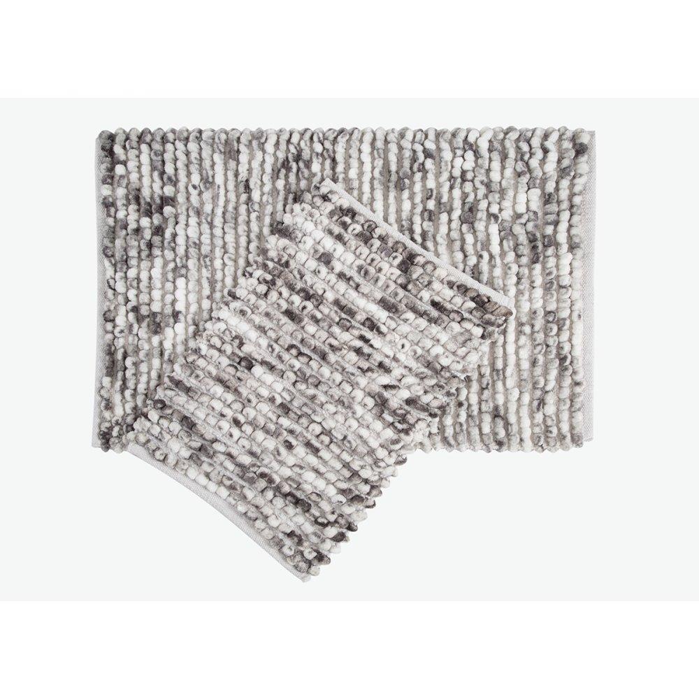 Набор ковриков Irya - Ottova dark-grey темно-серый 60*90+40*60