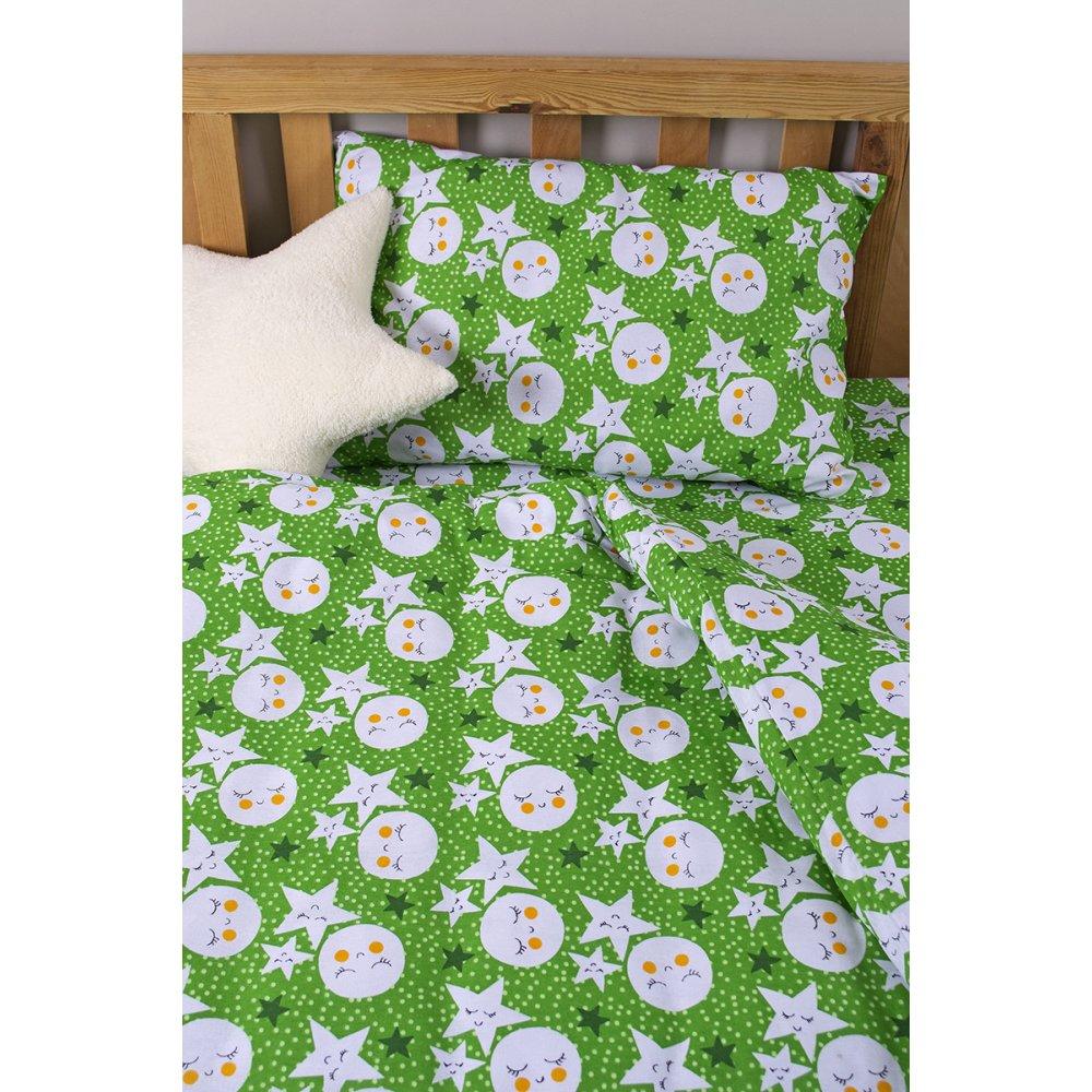 Детское постельное белье для младенцев Lotus ранфорс - LoNy зеленый