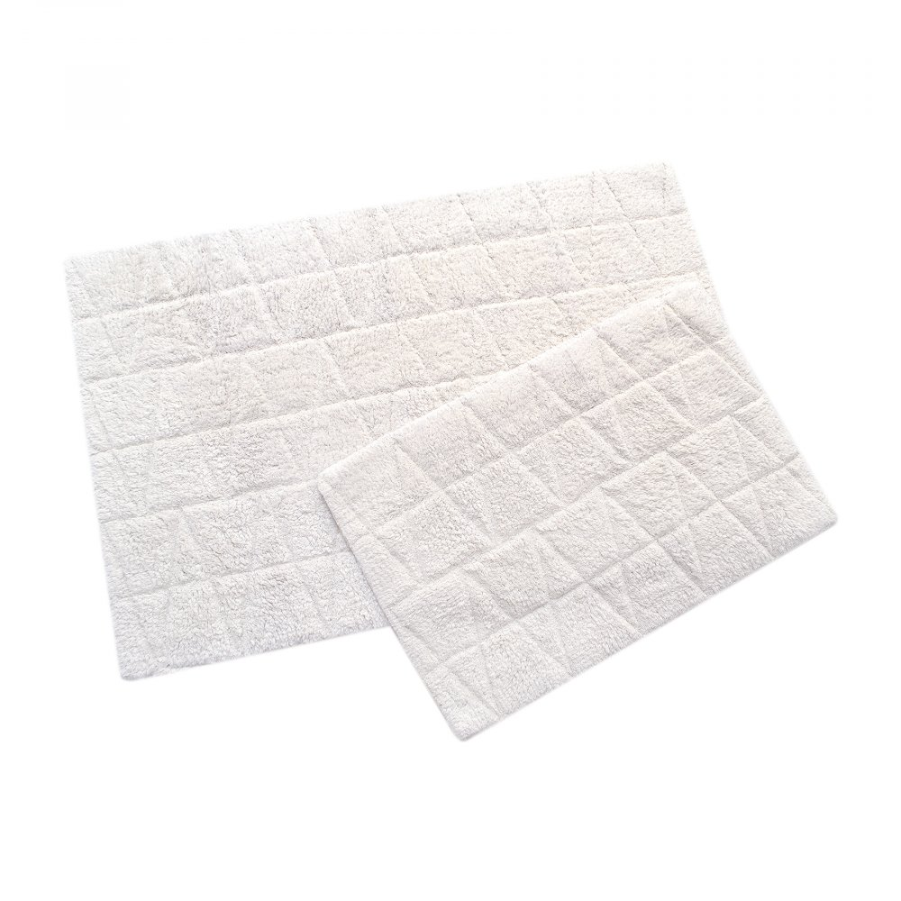 Набор ковриков Irya - Kinsey ekru молочный 60*90+40*60