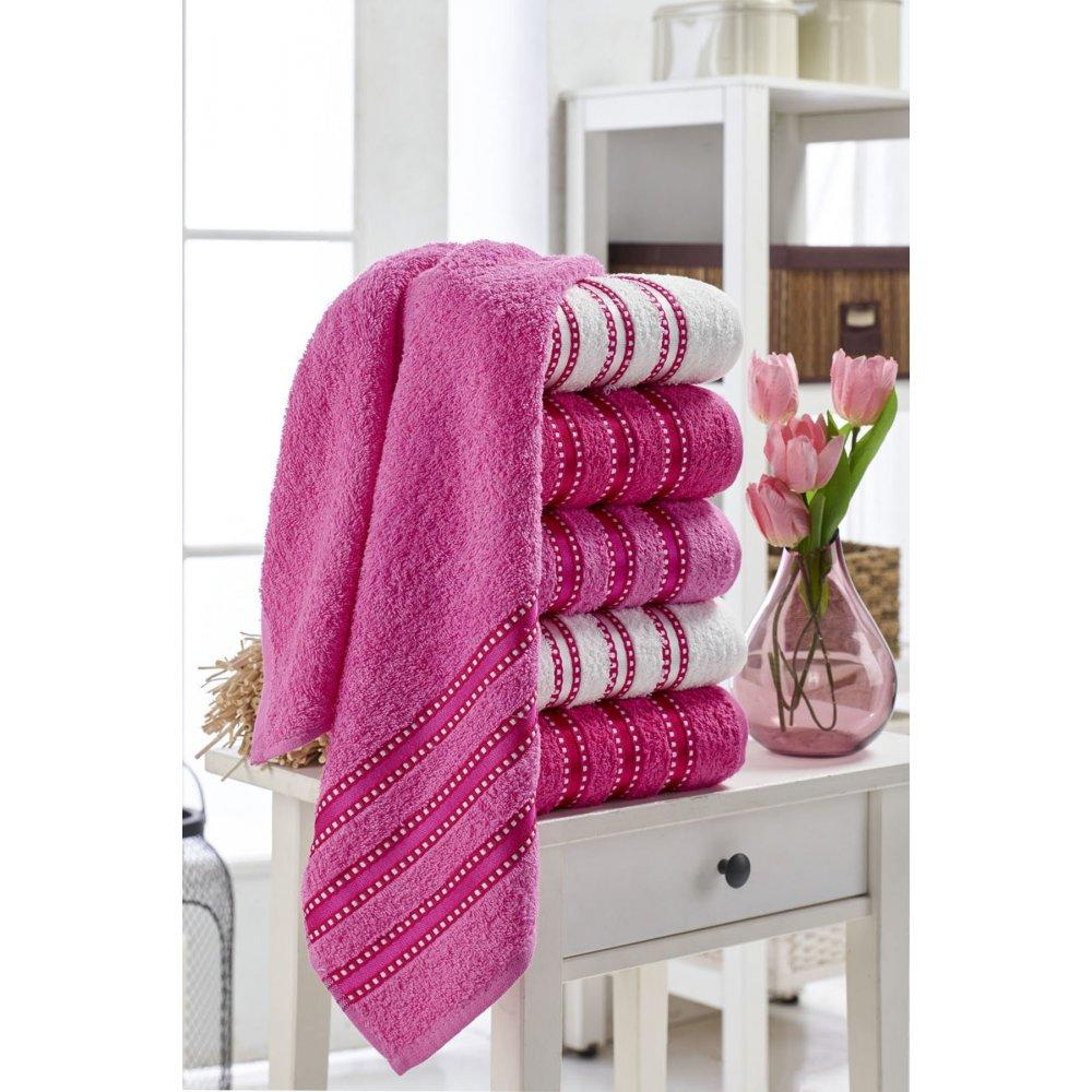 Набор полотенец Eponj Home - Vorteks 50*85 (6 шт) makara pembe розовый