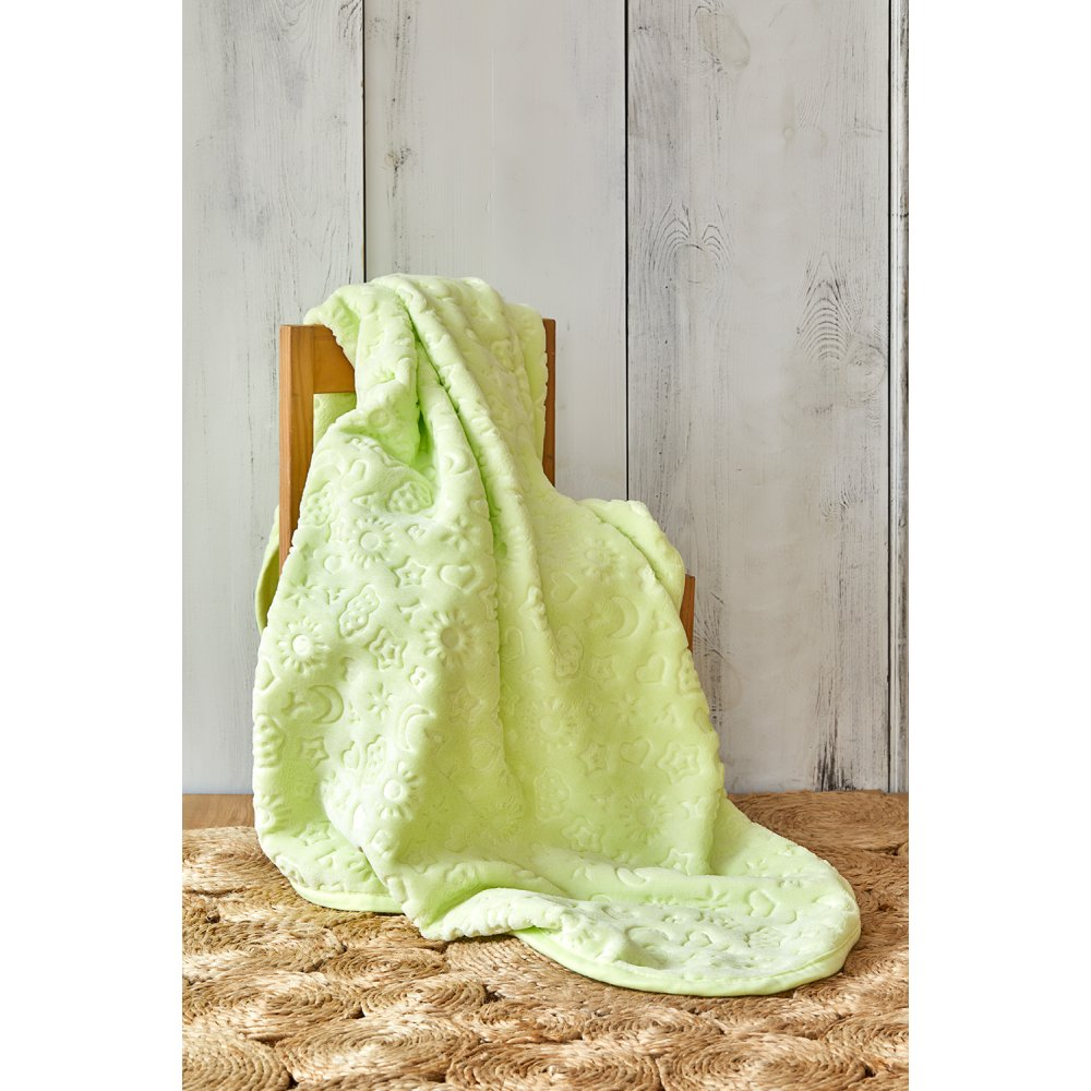 Детский плед в кроватку Karaca Home - Candy Yesil 2020-2 100*120