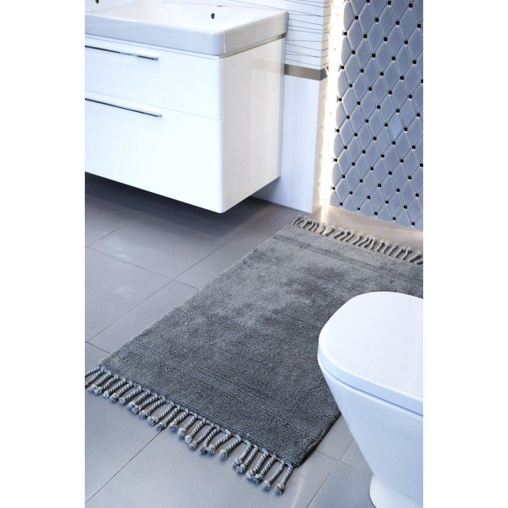 Набор ковриков Irya - Paloma k.gri темно-серый 60*90+40*60